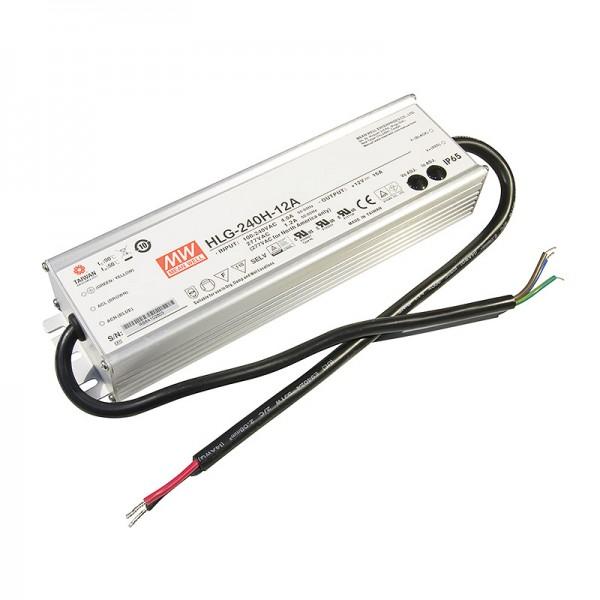 HLG-240H-12A, LED-Netzteil, 192W, 12V, 16A, IP65
