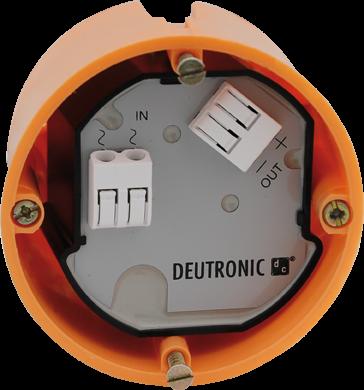 DP30UP-24-C Unterputznetzteil 24VDC/1,25A