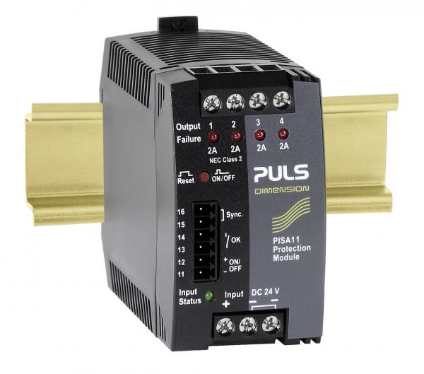 PISA11.402 Puls Sicherungsmodul, 24VDC, 8A