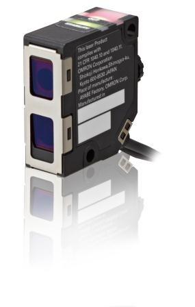 Fotoschalter, Lasertaster bis 1,2m, Lichtfleck fokussierbar, 2m Anschlusskabel, zur Verwendung mit V