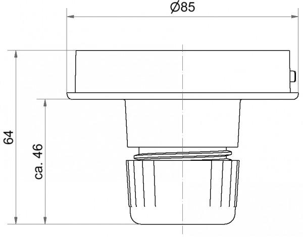 Midi Rohradapter RM GY