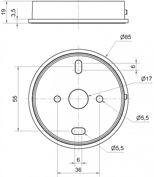 Midi Adapter BM GY