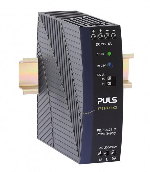 PIC120.241C PULS PIANO Hutschienen-Netzteil 24V/DC, 5A, 120W