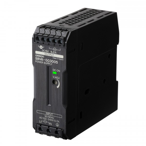 Schaltnetzteil - PRO Linie, 30 W, 100 bis 240 VAC Eingang, 5 VDC 5A Ausgang, Power Boost, DIN-Schie