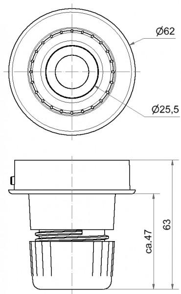 Mini Rohradapter RM GY