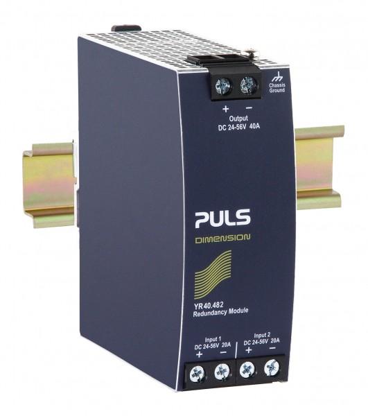 YR40.482 Puls Hutschienen MOSFET Redundanzmodul, 24-56VDC, 40A