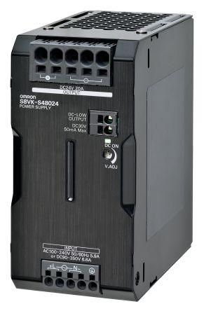 Omron S8VK-G48048, 48VDC, 10A, 480W, DIN-Schienen Netzteil