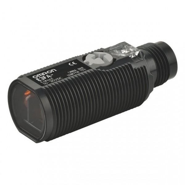 Fotoschalter - PRO Linie, Taster, Reichweite 100mm, M18 Kunststoffgehäuse, Schutzklasse IP69k, PNP,