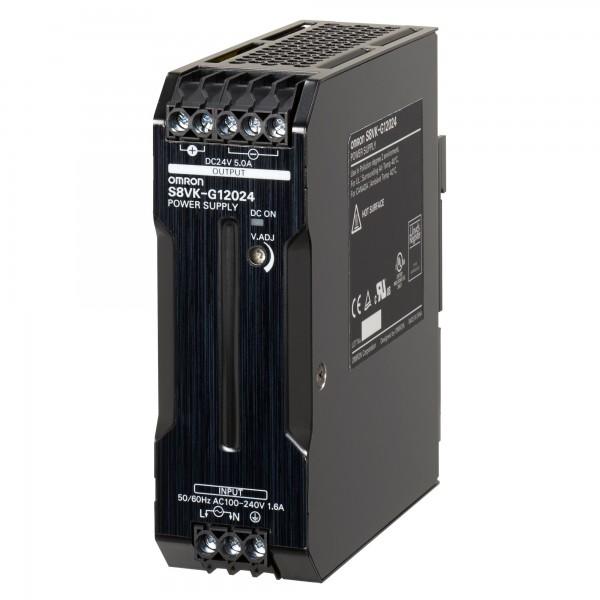 Omron S8VK-G12024, 24VDC, 5A, 120W, DIN-Schienen Netzteil