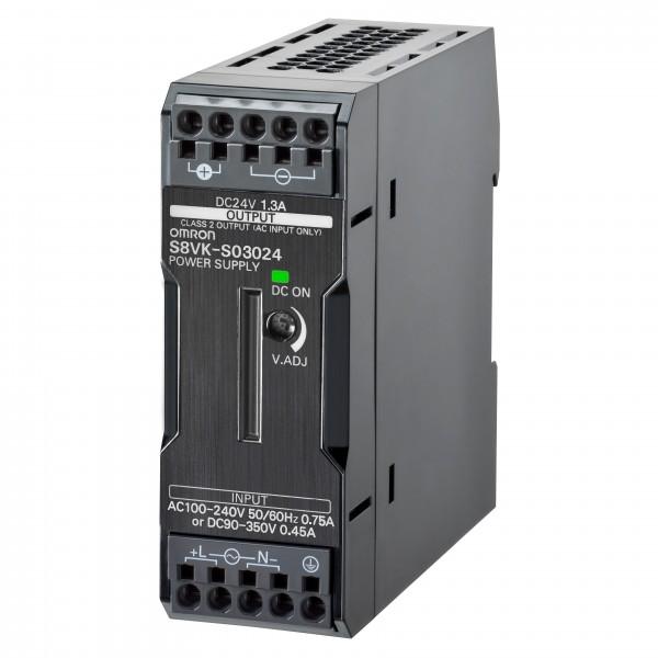 Schaltnetzteil, buchform, 30 W, 24V DC, 1.3 A, DIN-Hutschienenmontage, Push-In, beschichtete Leiterp