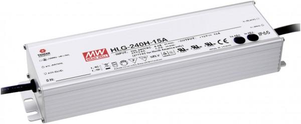 HLG-240H-24, LED-Treiber, Mean Well, 240W,12v-24V, 10A