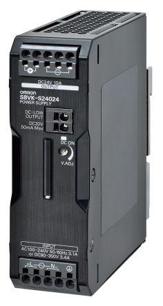 Omron S8VK-S24024, 24VDC, 10A, 240W, DIN-Schienen Netzteil