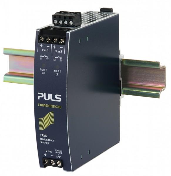 YRM2.DIODE Puls Hutschienen Dioden Redundanzmodul, 24-48VDC, 20A