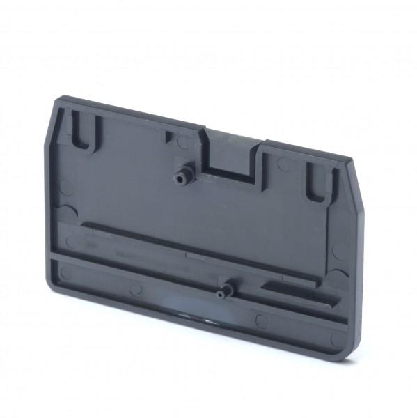 Endplatte für Mehrleiter-Reihenklemmen mit 4 Anschlüssen, 2.5mm², Push-in Plus Modelle